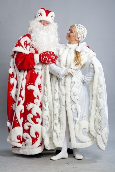 Костюм деда мороза и снегурочки фото своими руками